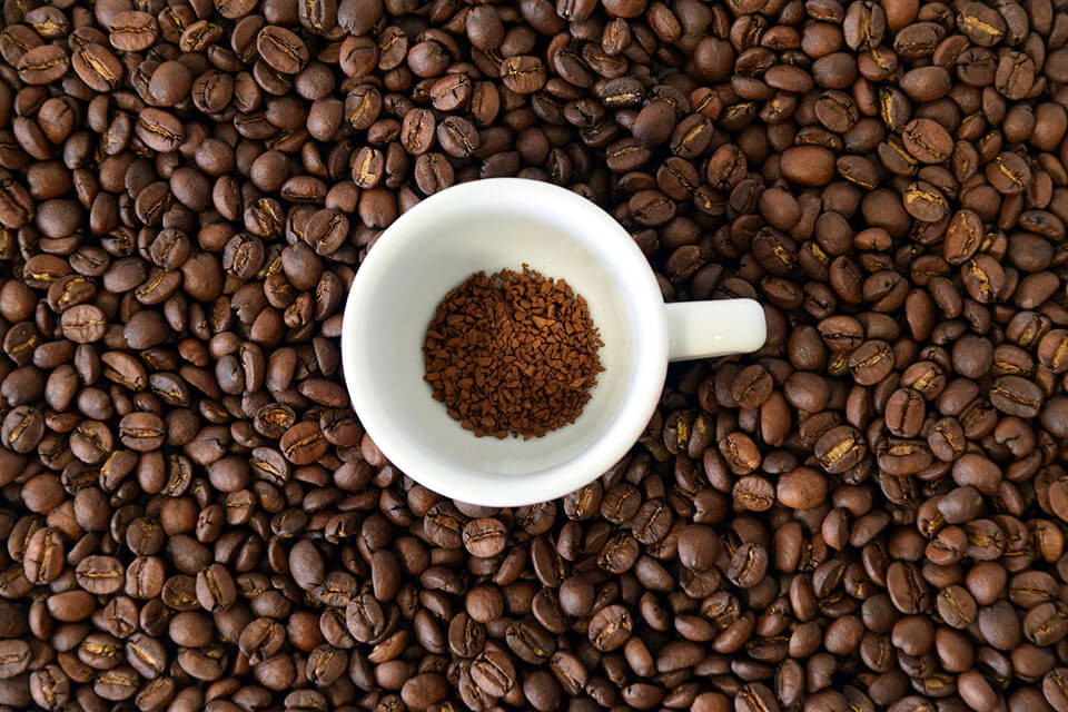 インスタントコーヒーイメージ画像