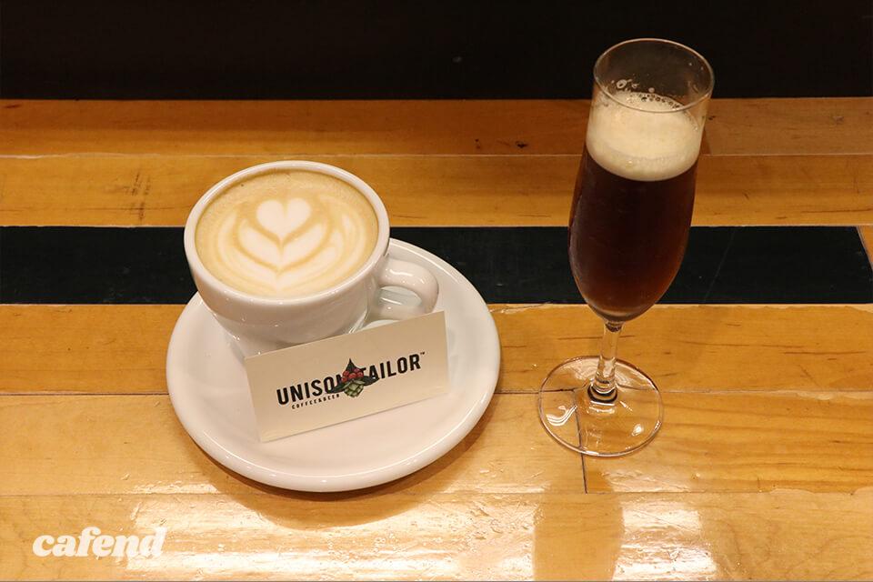 コーヒーとカクテル