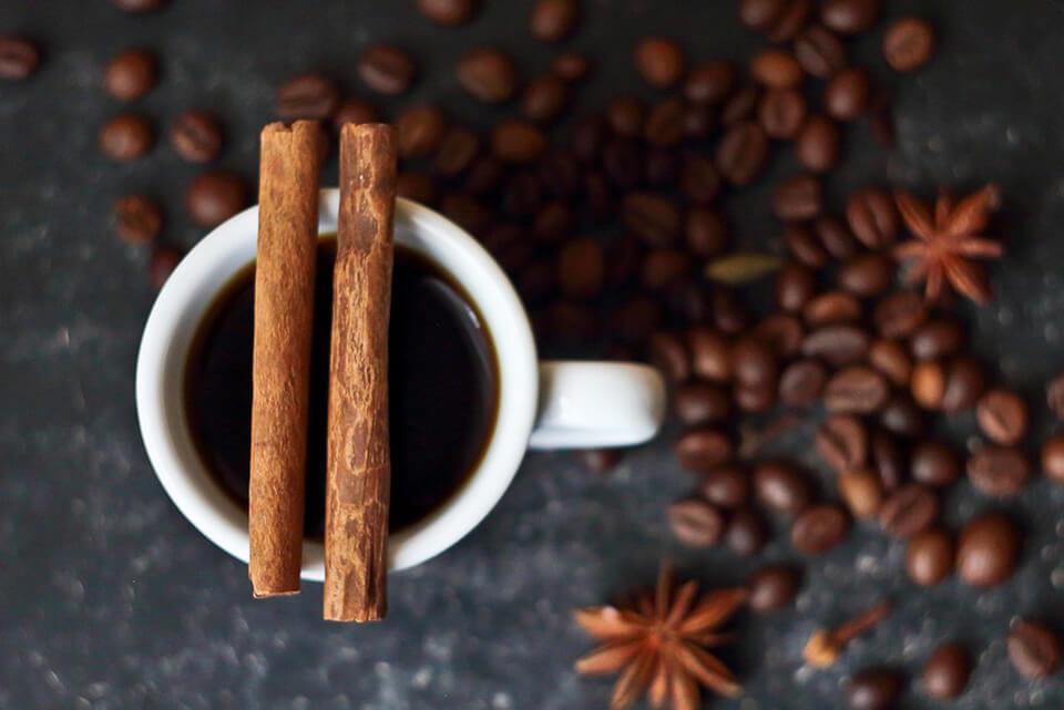 さまざまなコーヒーシロップ