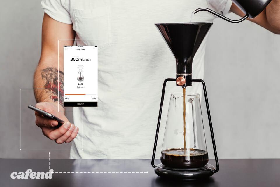 スマートコーヒーメーカーGINA