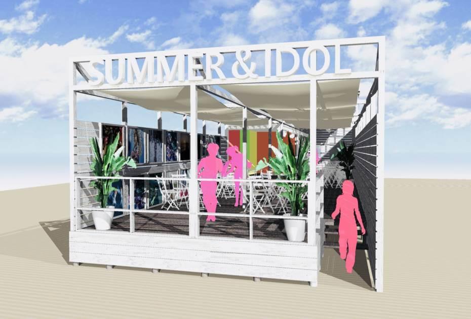 ビーチカフェ SUMMER&IDOL