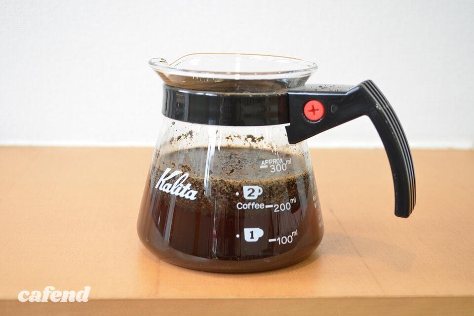 カフェカホン流アイスコーヒーの作り方