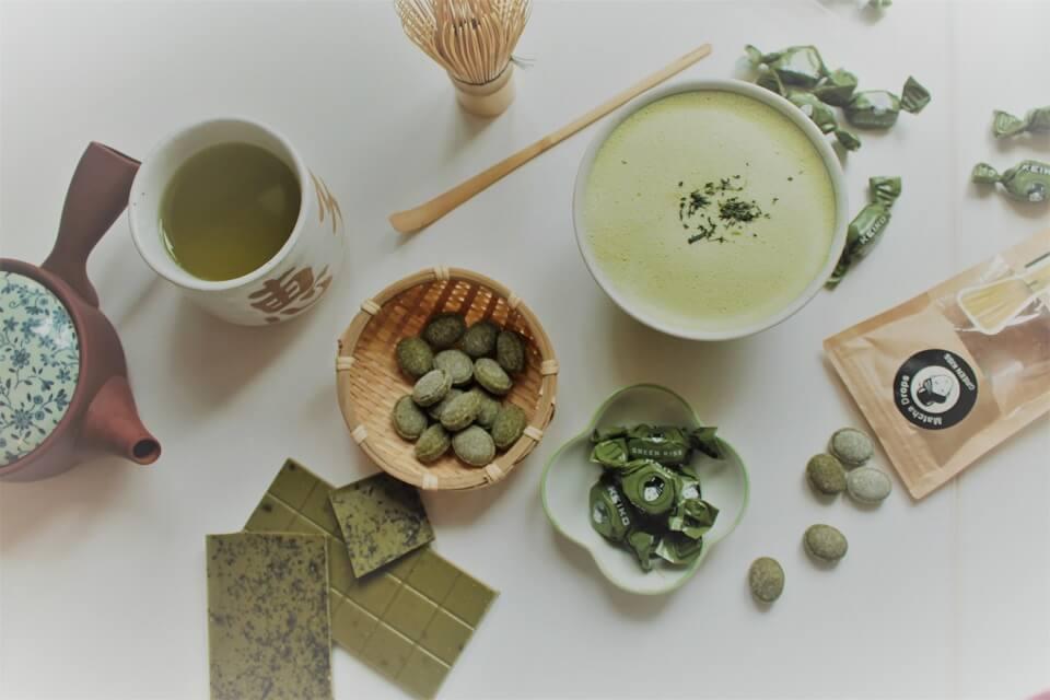 食べても美味しい緑茶もプロデュース