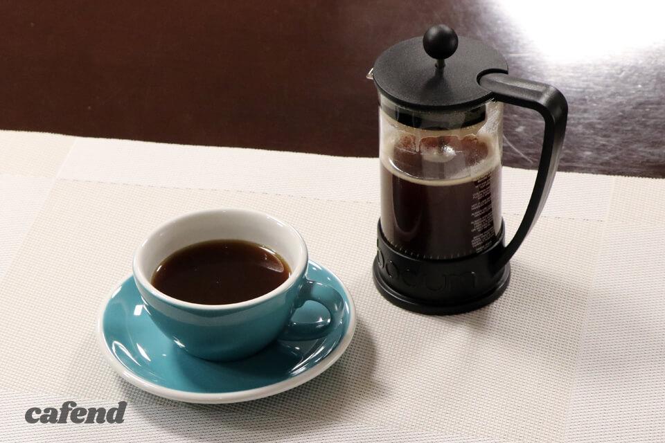コーヒーの教科書 フレンチプレスのおいしい淹れ方