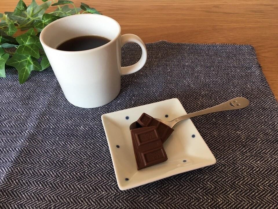 チョコレートをちょい足し
