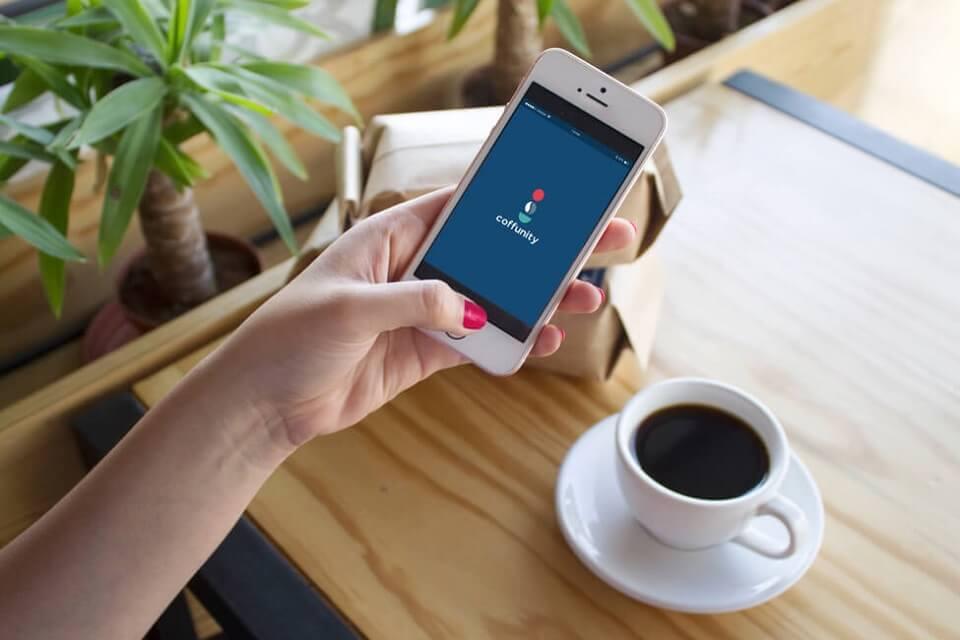 コフュニティはコーヒー専門のスマホアプリ