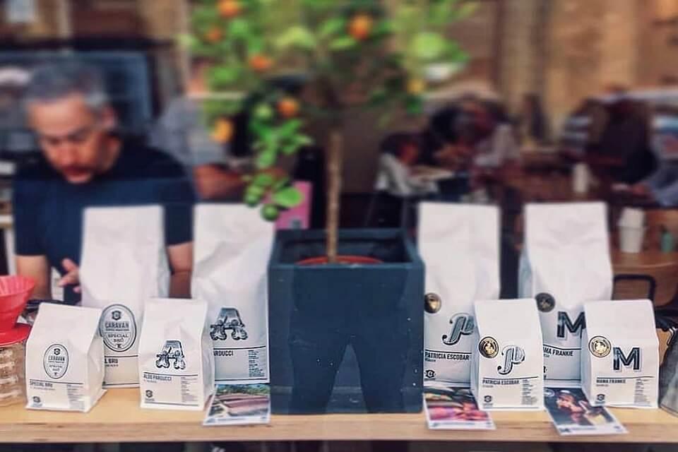 キャラバン・コーヒー・ロースターズのコーヒーセレクション