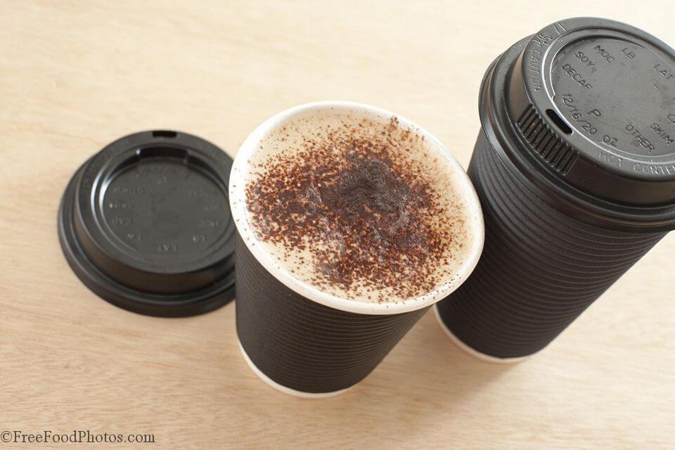 テイクアウト用コーヒーカップ