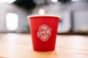 コーヒースプリームのコーヒー