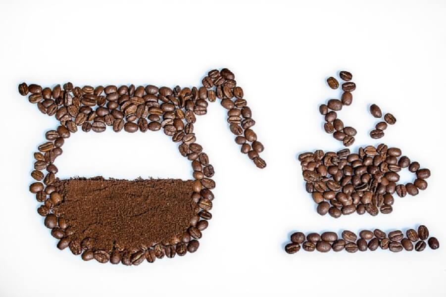 コーヒー豆のアート