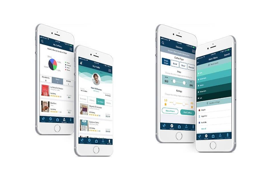 コフュニティのアプリ画面