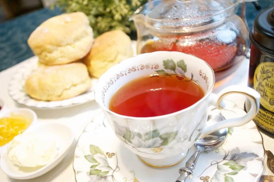 優雅なティータイムには欠かせない紅茶