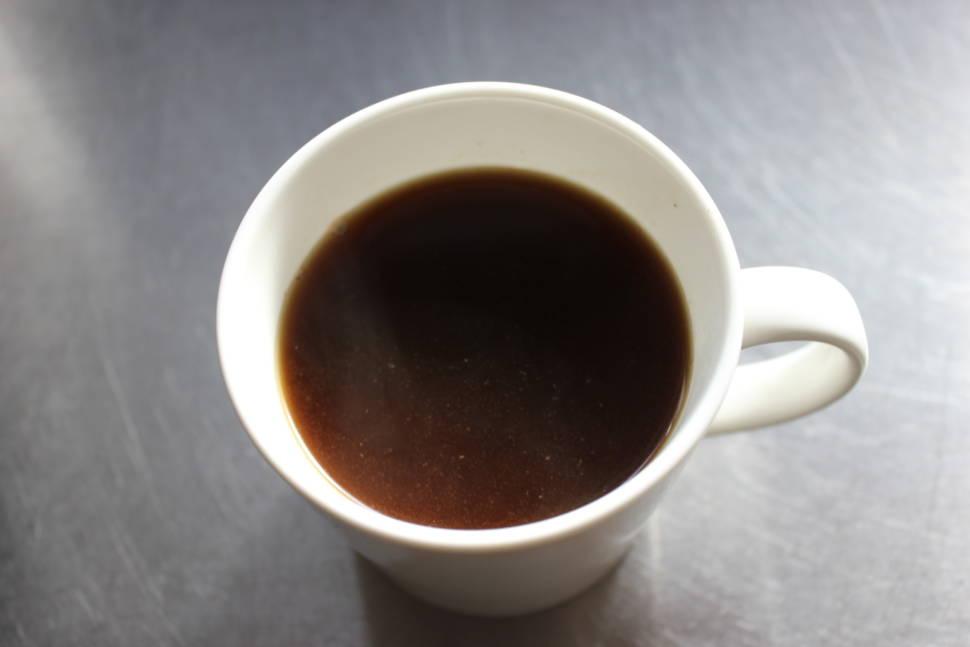 茶こしコーヒー