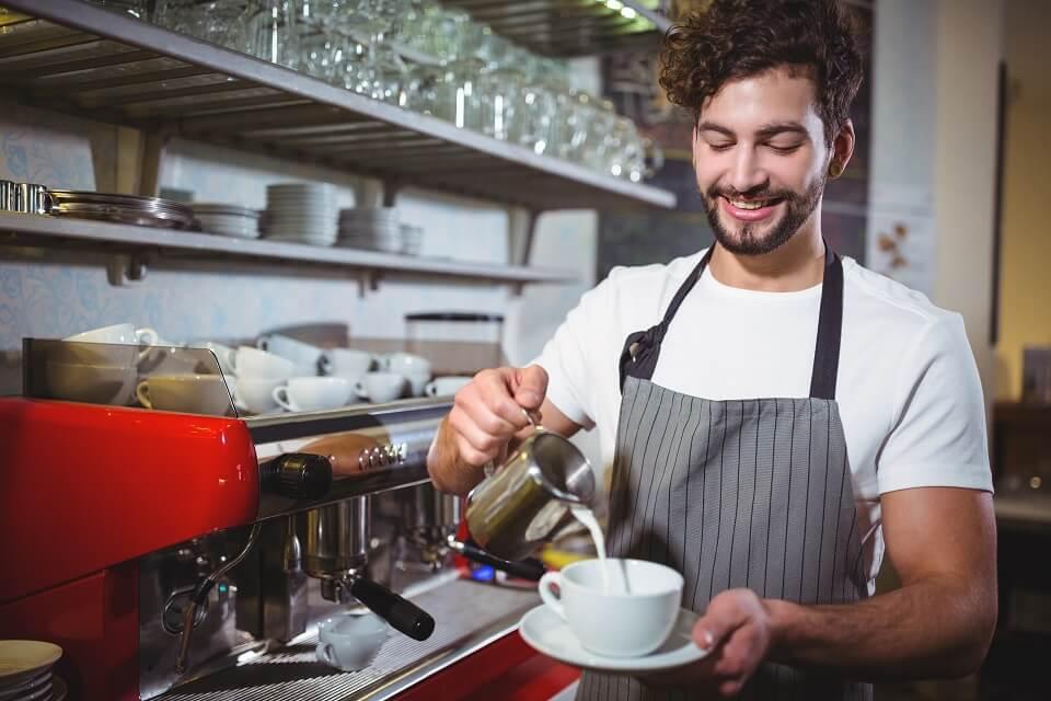 ドイツのカフェスタッフは国際色豊か