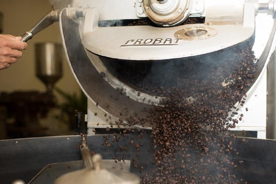 コーヒーの焙煎