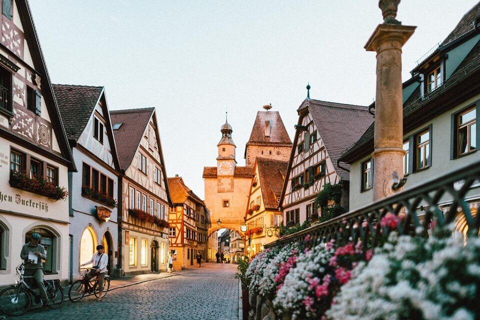 ドイツで人気の観光地、ローテンブルク
