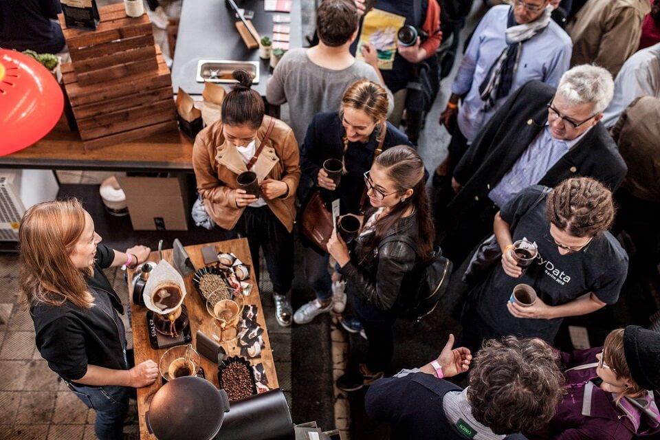 ベルリンコーヒーフェスティバルの風景