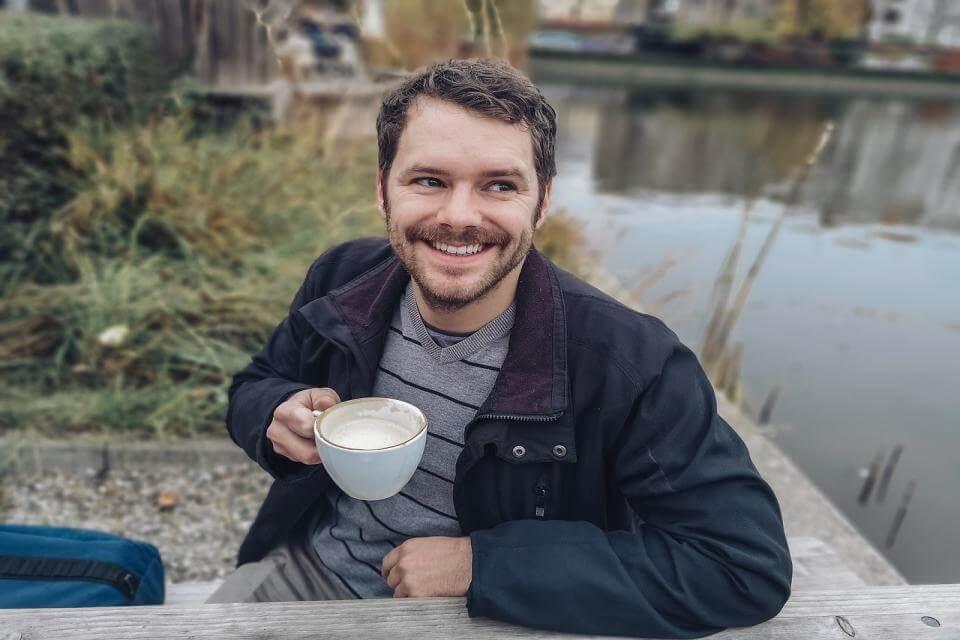 コーヒーと笑顔