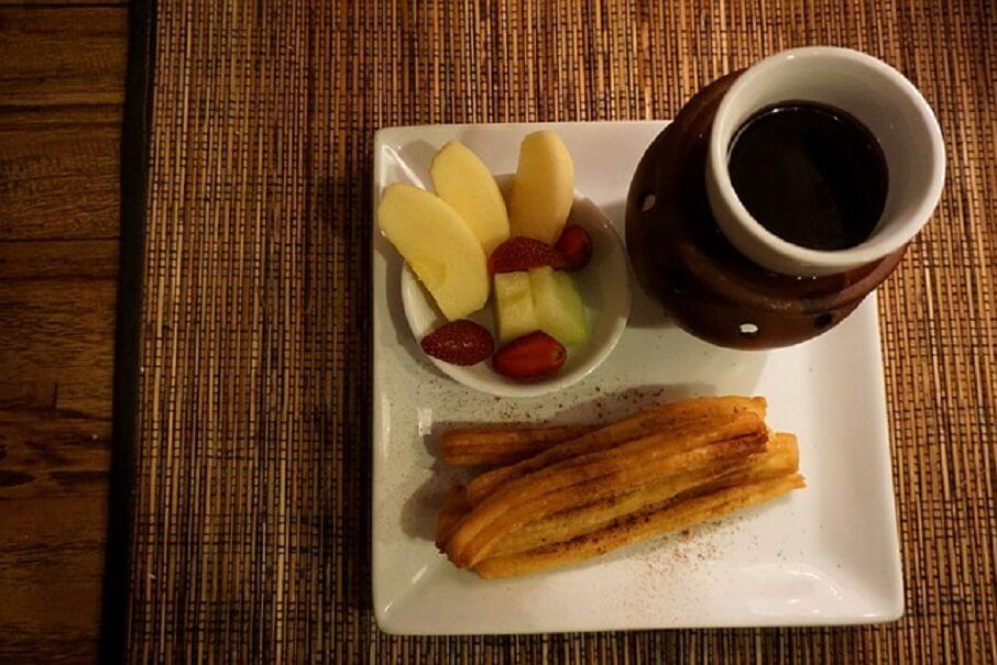 メキシコの朝ごはん