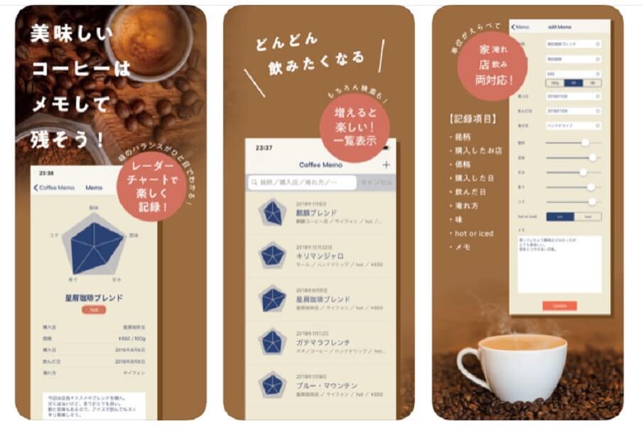 コーヒーメモ