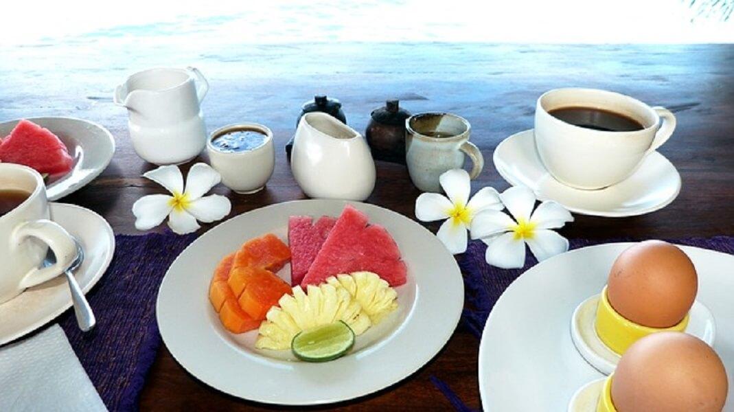 バリ島の朝食