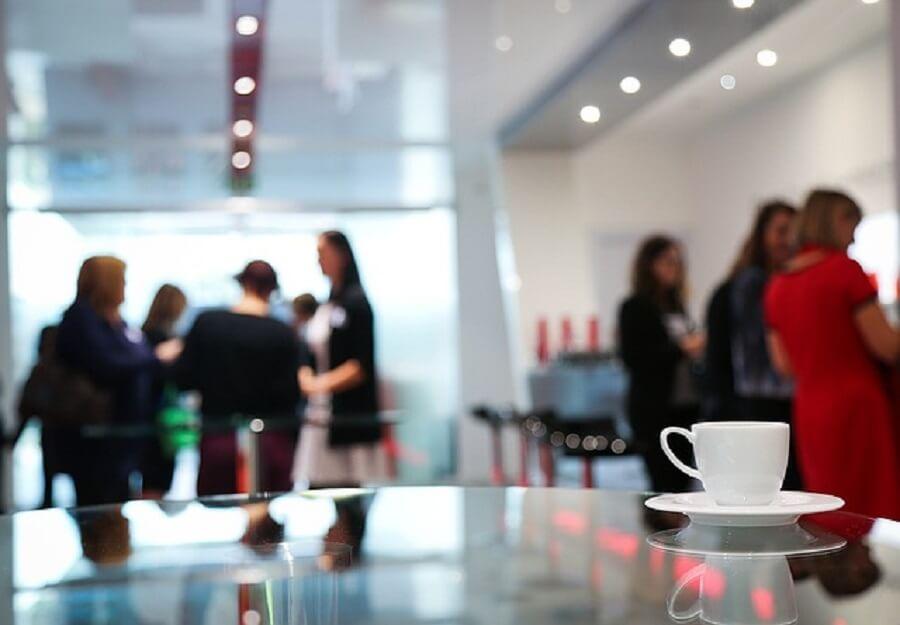 職場のコーヒーブレイク