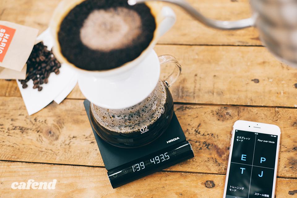スマホ連動で抽出をガイド!HARIOの多機能コーヒースケール『Smart Q JIMMY』が登場