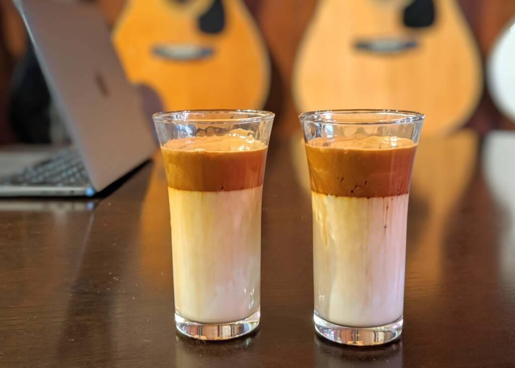 ダル ゴナ コーヒー 飲み 方