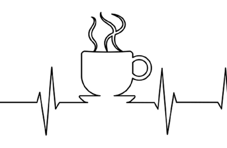 心電図とコーヒー