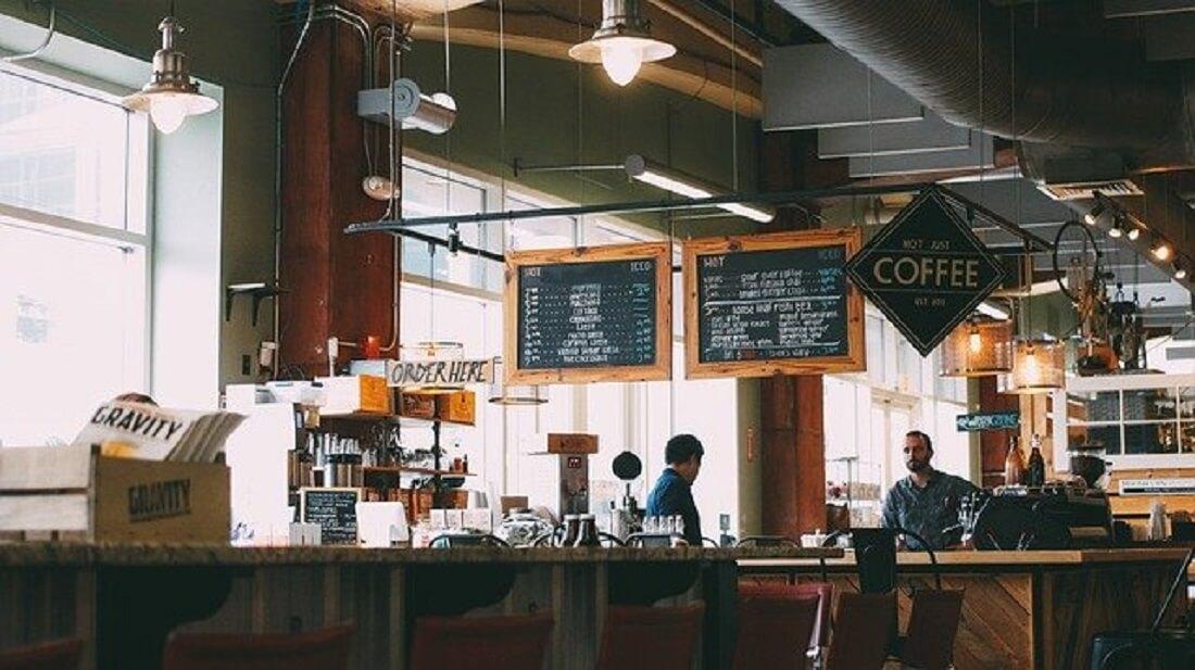 海外のカフェ