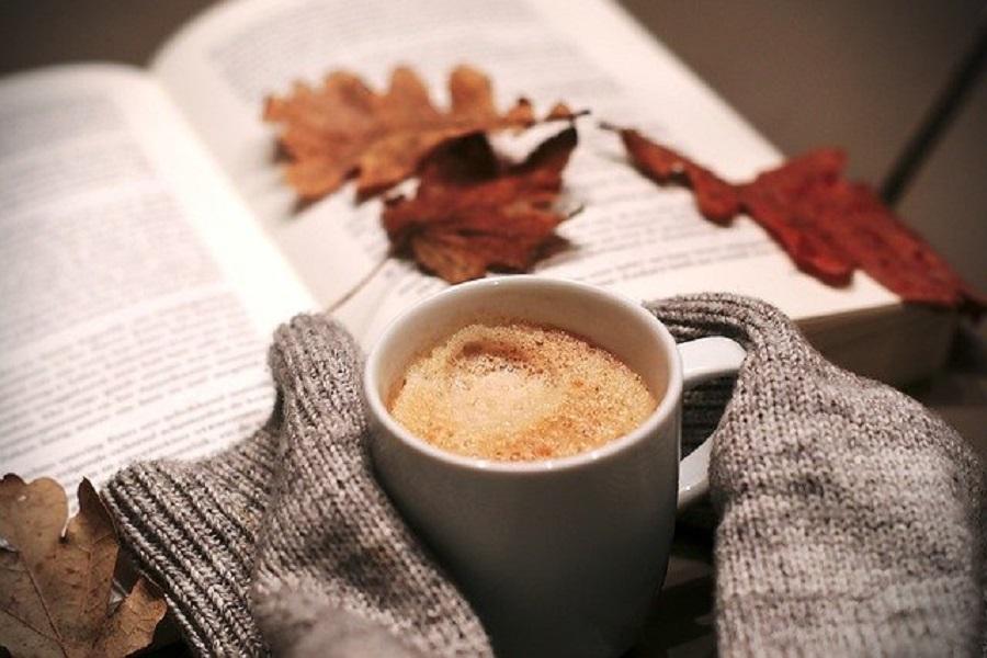 洋書とコーヒー