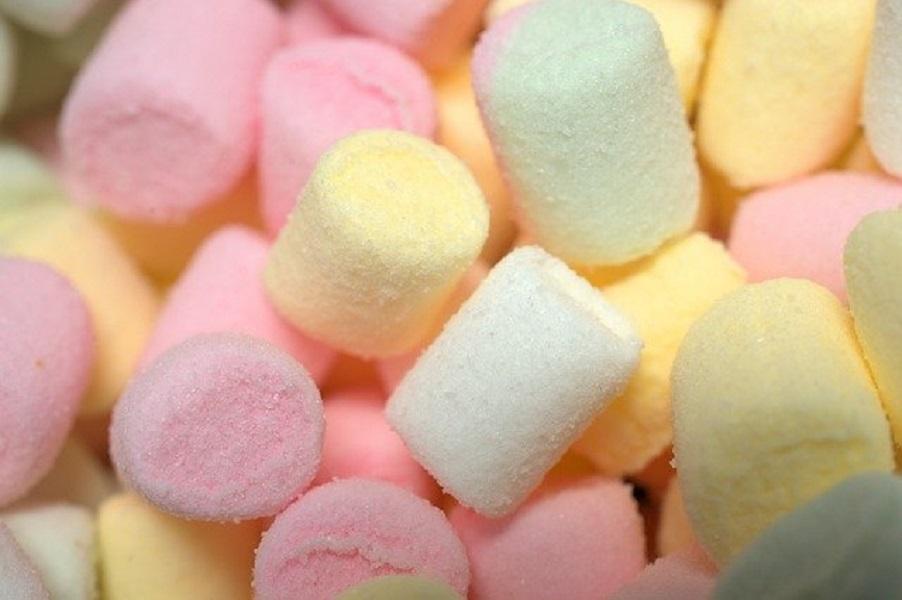 砂糖付きマシュマロ